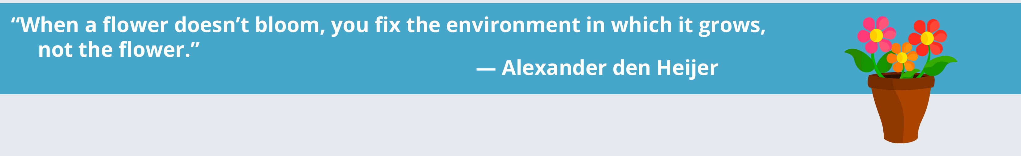 Alexander den Heijer quote about educational equity